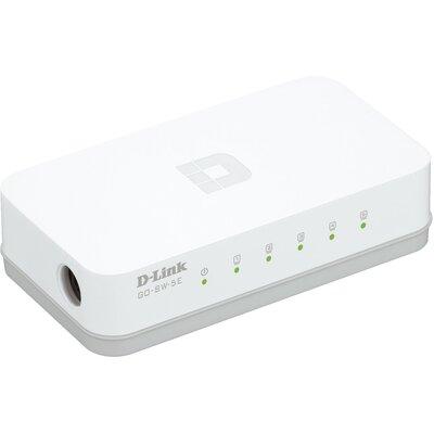 D-Link GO-SW-5E - 5‑портов Ethernet Easy десктоп суич