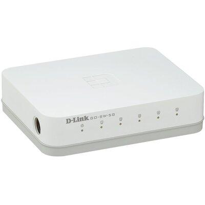 D-Link GO-SW-5G - 5‑портов гигабитов Easy десктоп суич