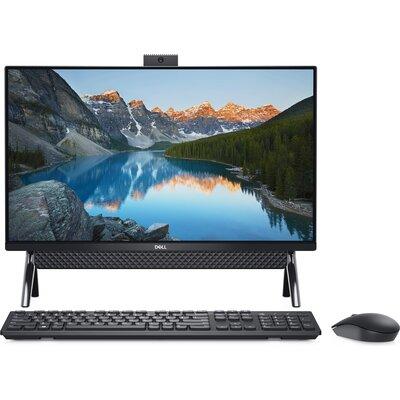 """Компютър Dell Inspiron 5400 AIO - 24"""" FHD WVA, Intel Core i7-1165G7, 8GB RAM, 256GB SSD, 1TB HDD"""