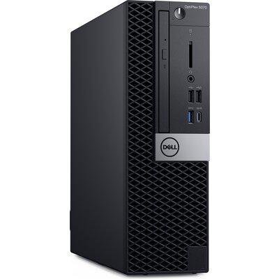 Компютър Dell OptiPlex 5070 SFF - Intel Core i7-9700, 8GB DDR4, 256GB SSD