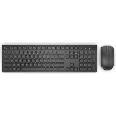 Комплект безжична клавиатура с мишка Dell KM636