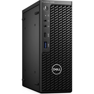 Компютър Dell Precision 3240 Compact - Intel Core i7-10700, 16GB DDR4, 512GB SSD