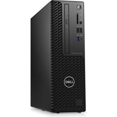Компютър Dell Precision 3450 SFF - Intel Core i5-11500, 8GB RAM, 256GB SSD + 1TB HDD, Radeon Pro WX 3200