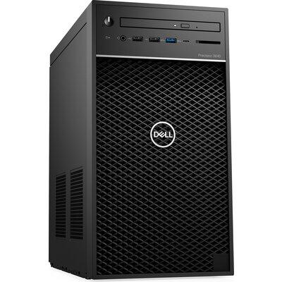 Компютър Dell Precision 3640 Tower Workstation - Intel Core i7-10700K, 16GB DDR4, 512GB SSD