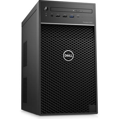 Компютър Dell Precision 3650 Tower Workstation - Intel Xeon W-1350, 16GB RAM, 512GB SSD, 2TB HDD, Radeon Pro W5500