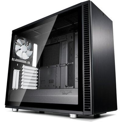Кутия Fractal Design Define S2 Black TG