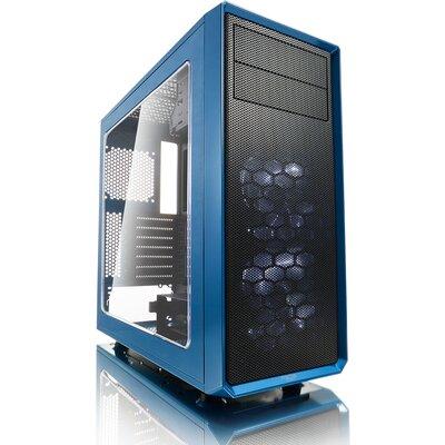Кутия Fractal Design Focus G - Petrol Blue