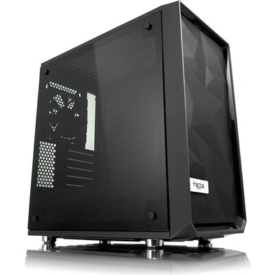 Кутия Fractal Design Meshify C Mini - Dark TG