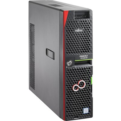 """Настолен сървър Fujitsu PRIMERGY TX1320 M4 - Intel Xeon E3-2124, 8GB, 2x3.5"""""""