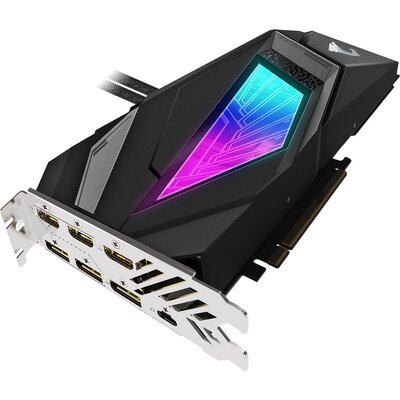 Видео карта GIGABYTE AORUS GeForce RTX 2080 SUPER WATERFORCE 8G