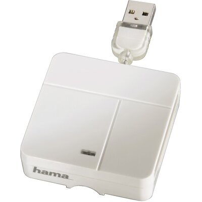 Четец за карти HAMA 94125 Multi, All in 1, USB 2.0, SD/micro SD/CF/MS/xD
