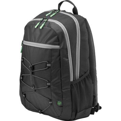 "Раница за 15.6"" лаптоп HP Active Backpack Черно/Ментово зелено"