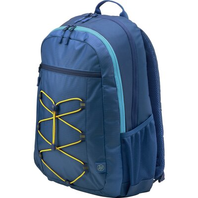 "Раница за 15.6"" лаптоп HP Active Backpack Тъмносиньо / Жълто"