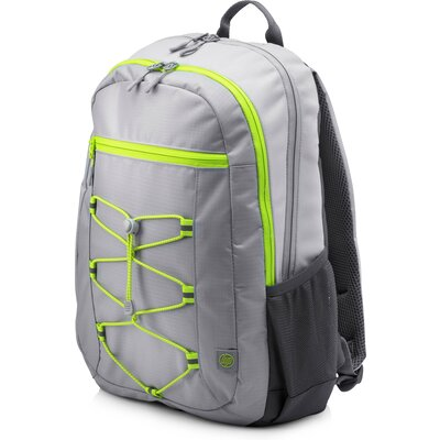 "Раница за 15.6"" лаптоп HP Active Backpack Grey/Neon Yellow"