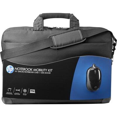 "Чанта за лаптоп с мишка HP 16"" Notebook Mobility Kit"