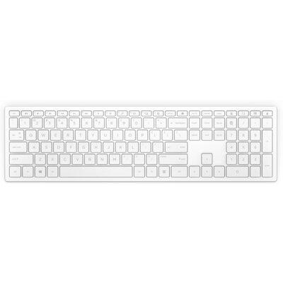 Безжична клавиатура HP Pavilion 600 бяла