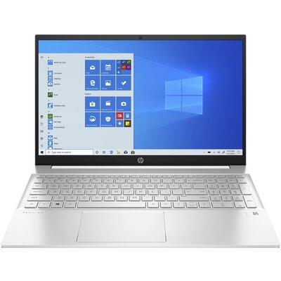 "Лаптоп HP Pavilion 15-eg0004nu - 15.6"" FHD IPS, Intel Core i7-1165G7, Ceramic White"