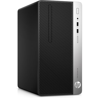 Компютър HP ProDesk 400 G5 Microtower PC, i3-8100