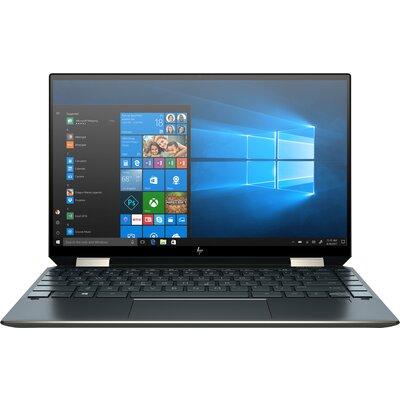 "Лаптоп HP Spectre x360 13-aw2000nu - 13.3"" FHD IPS Touch, Intel Core i7-1165G7, Poseidon Blue"