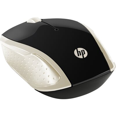 Безжична мишка HP Wireless Mouse 200, Silk Gold