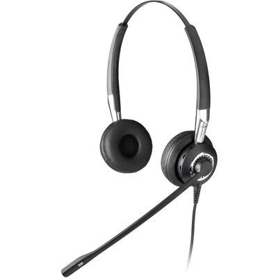 Слушалки с микрофон Jabra BIZ 2400 Duo, Noise Cancelling, QD jack