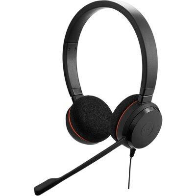 Слушалки с микрофон Jabra Evolve 20 MS stereo