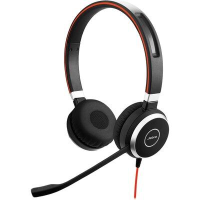 Слушалки с микрофон Jabra Evolve 40 MS Stereo USB