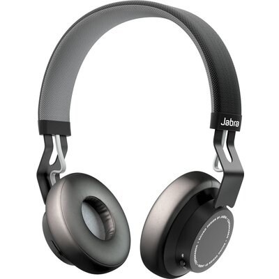 Bluetooth слушалки Jabra Move, Coal Black