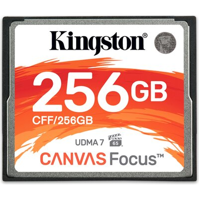 Kingston Canvas Focus CompactFlash 256GB