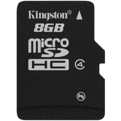 Micro SD карта Kingston 8 GB Class 4 + SD адаптер