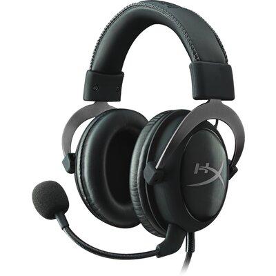 Геймърски слушалки Kingston HyperX Cloud II Gunmetal