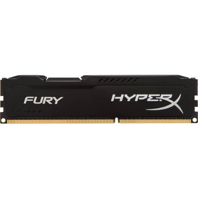 RAM Kingston HyperX FURY 4GB DDR3-1600 Black