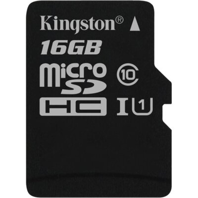 Kingston microSDHC Canvas Select 16GB + SD адаптер