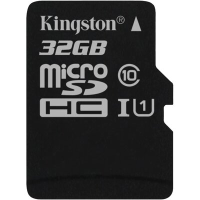Kingston microSDHC Canvas Select 32GB + SD адаптер
