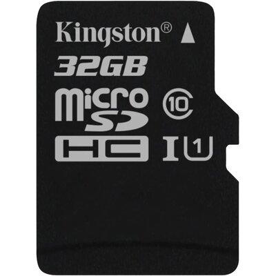 Kingston microSDHC Canvas Select 32GB + SD адаптер