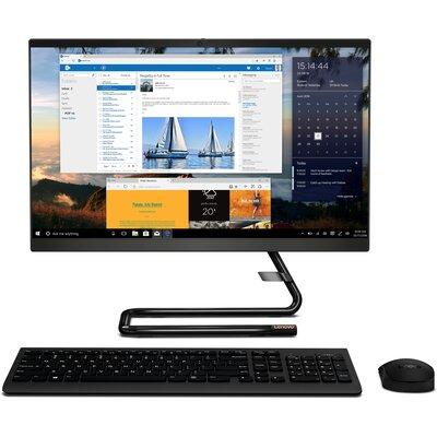 """Компютър Lenovo IdeaCentre A340-22IWL - 21.5"""" FHD, Intel Pentium 5405U, Black"""