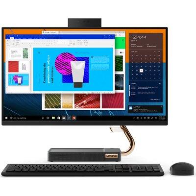"""Компютър Lenovo ideacentre A540-24API - 24"""" FHD, AMD Ryzen 5 3400GE"""