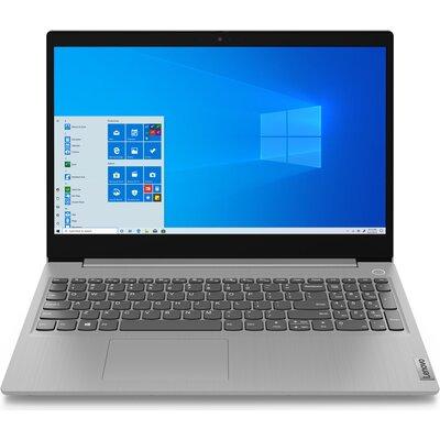 "Лаптоп Lenovo IdeaPad 3 15IIL05 - 15.6"" FHD IPS, Intel Core i7-1065G7, Платинено сиво"