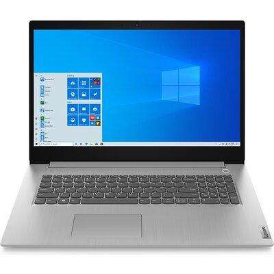 "Лаптоп Lenovo IdeaPad 3 17ADA05 - 17.3"" HD, AMD Athlon Silver 3050U, Платинено сиво"