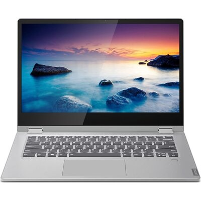 "Лаптоп Lenovo ideapad C340-14IML - 14"" FHD IPS Touch, Intel Core i3-10110U, Platinum Grey"
