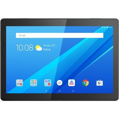 "Таблет Lenovo Tab M10 TB-X605L - 10.1"" FHD IPS, 32GB eMCP, 4G LTE, Slate Black"
