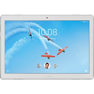"Таблет Lenovo Tab P10 TB-X705L - 10.1"" FHD IPS, 64GB eMMC, 4G LTE, Sparkling White"