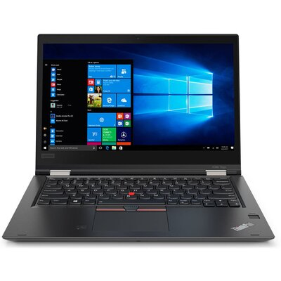 "Лаптоп Lenovo ThinkPad X380 Yoga - 13.3"" FHD IPS Touch, Intel Core i7-8550U, Black"