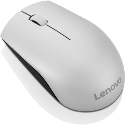Безжична мишка Lenovo 520 Wireless Mouse, Platinum