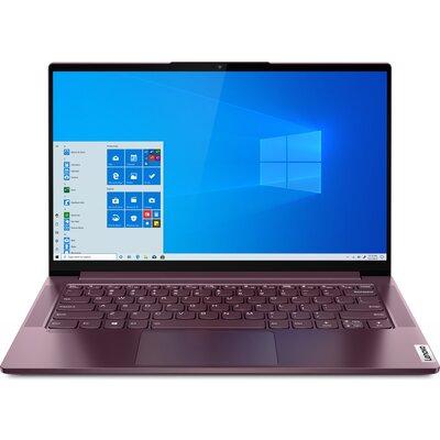 "Лаптоп Lenovo Yoga Slim 7 14ARE05 - 14"" FHD WVA, AMD Ryzen 7 4700U, Orchid"