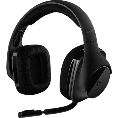 Безжични геймърски слушалки Logitech G533, DTS 7.1 Surround