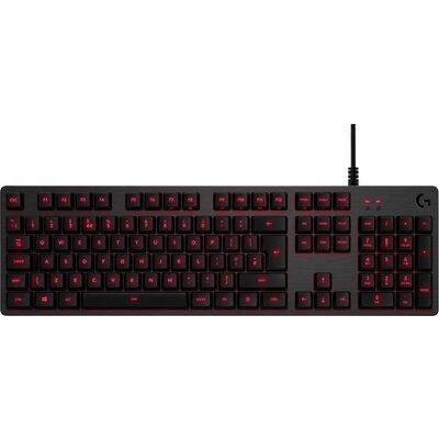 Геймърска механична клавиатура Logitech G413 Carbon