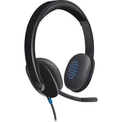Слушалки с микрофон Logitech H540 USB