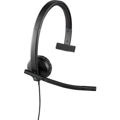 Слушалки с микрофон Logitech H570e Mono