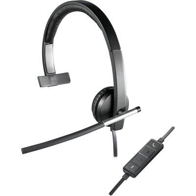 Слушалки с микрофон Logitech H650e Mono